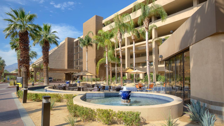 Image from Hyatt Palm Springs Website
