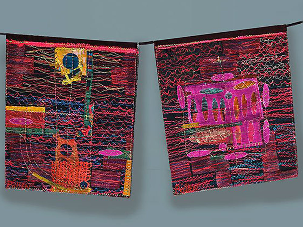 Prayer Flags, detail