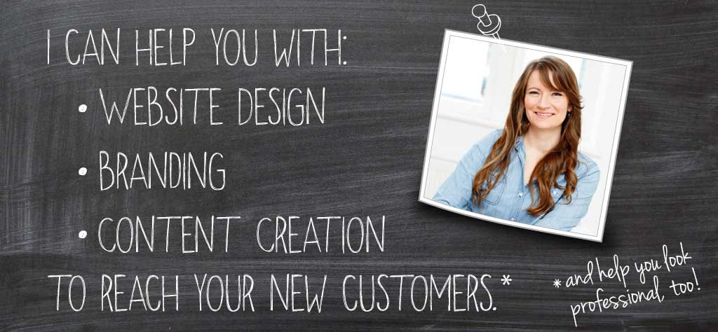 copywriter & graphic designer for small businesses