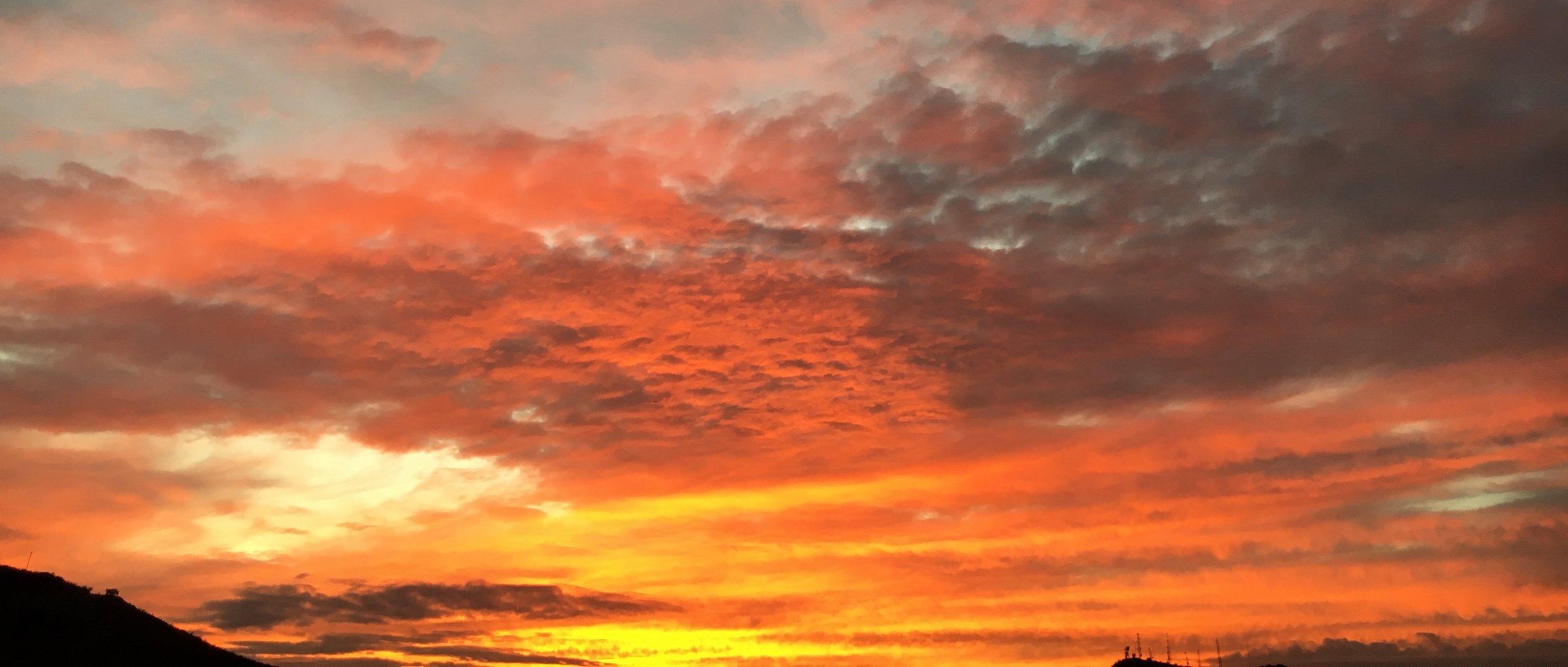 Sunset in Phoenix, Arizona!