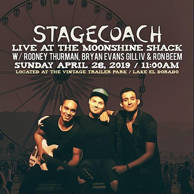 What's up @stagecoach !!!! We'll see you at 11 am. Can't wait to rock with you!!! #stagecoach #2019 #country #california