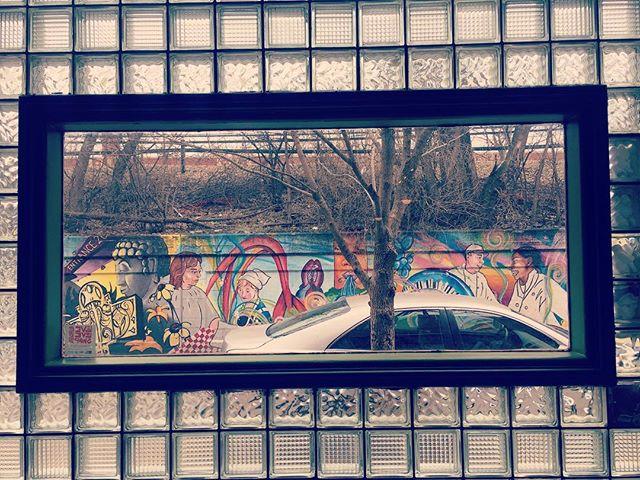 Framed art  #art #graffiti #rogerspark #chicago #chigram #heartlandcafe #redlinetap #redline #cta #publicart