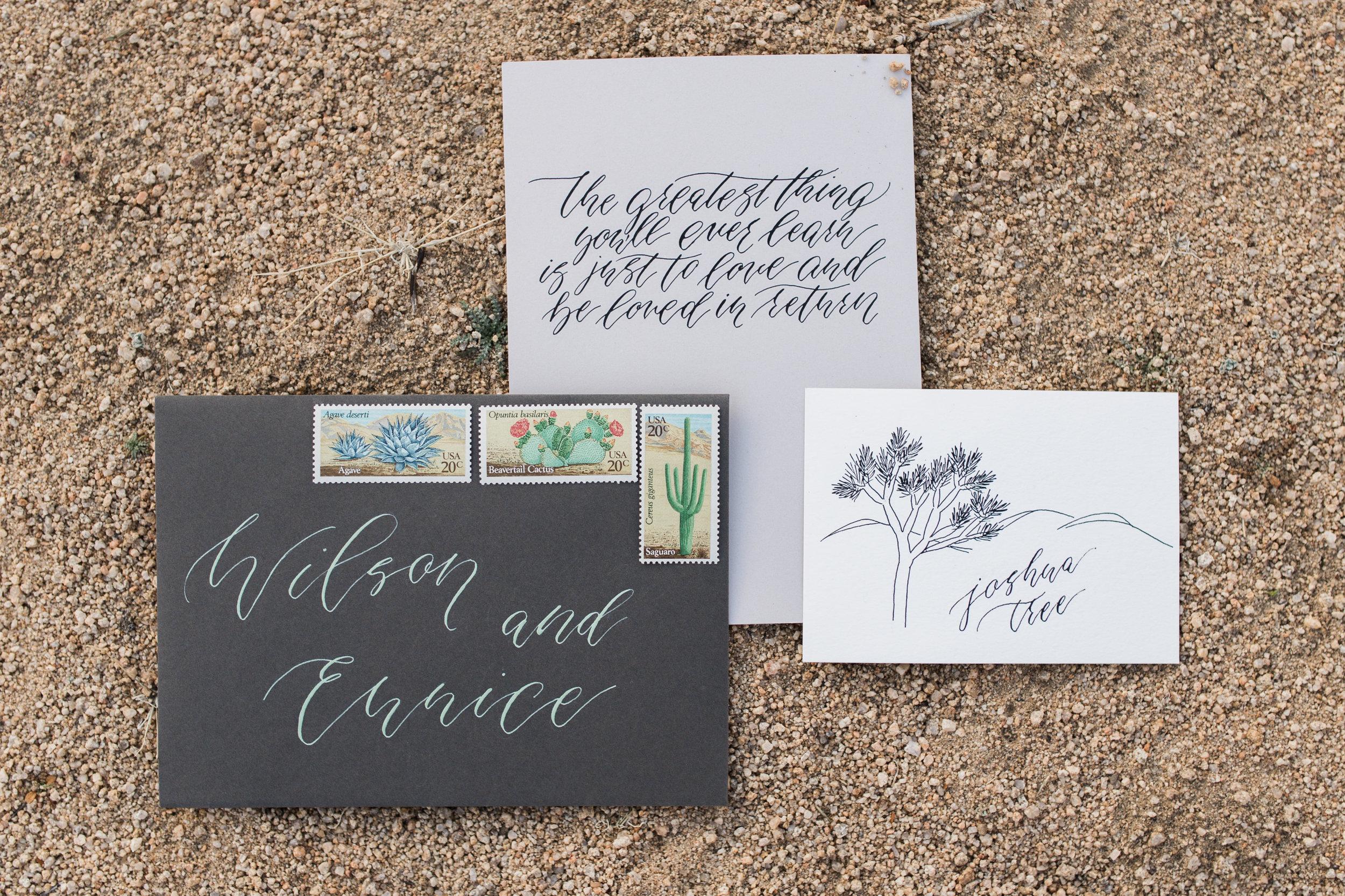 Desert Calligraphy