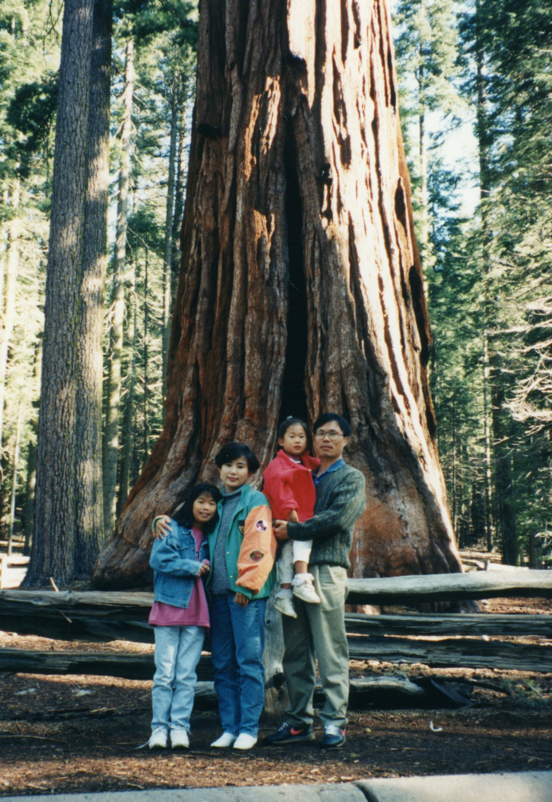 Sequoia National Park with my family