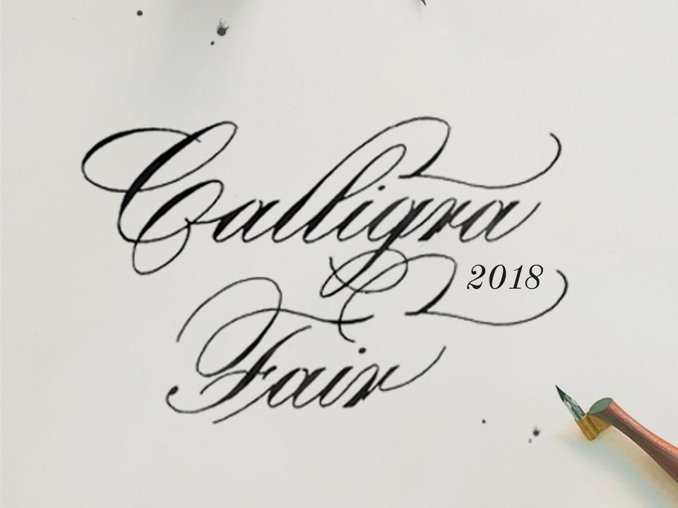 CalligraFair 2018   Monrovia, CA - October 13 and 14, 2018