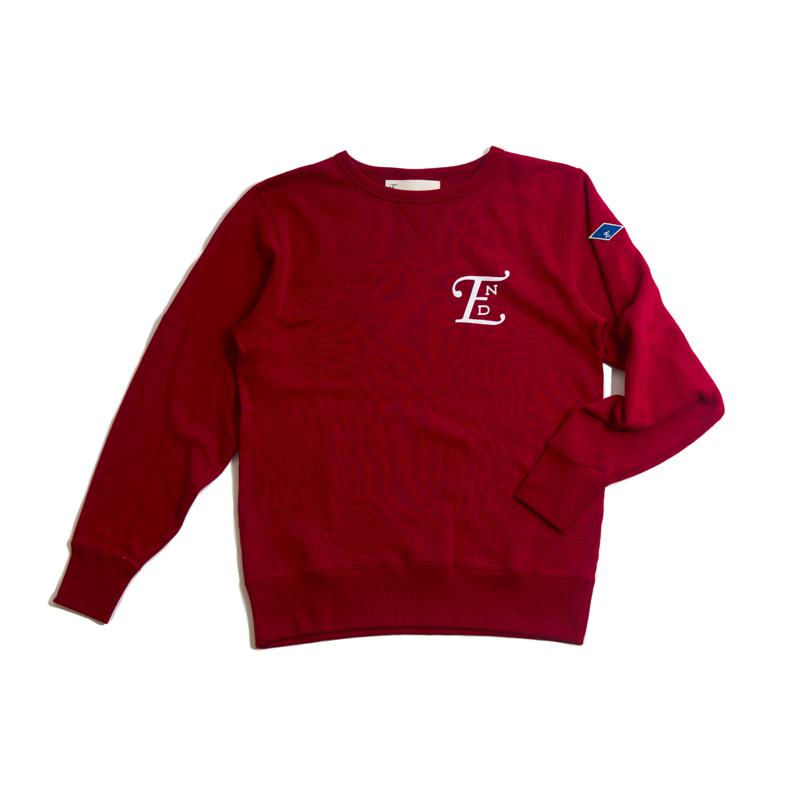 emblem LS sweater-red001.jpg