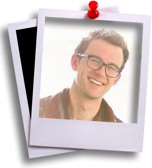 Blake Polaroid headshot