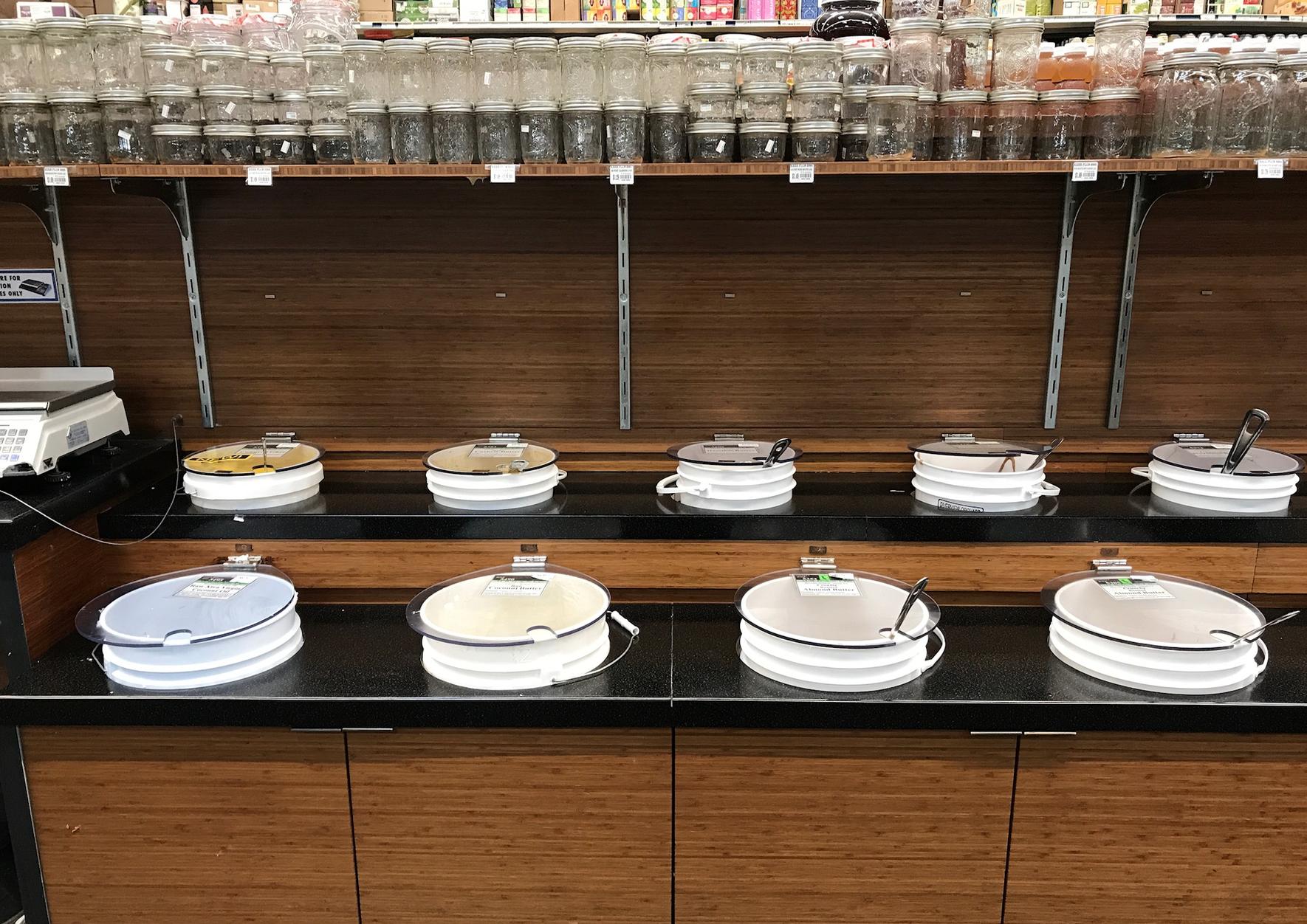 Bulk, zero waste foods at Rainbow Grocery | Litterless