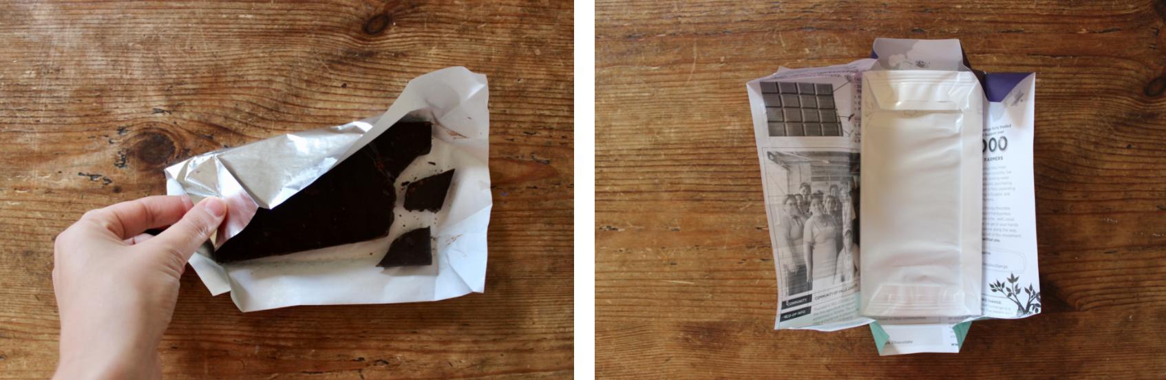 How to buy zero waste chocolate | Litterless