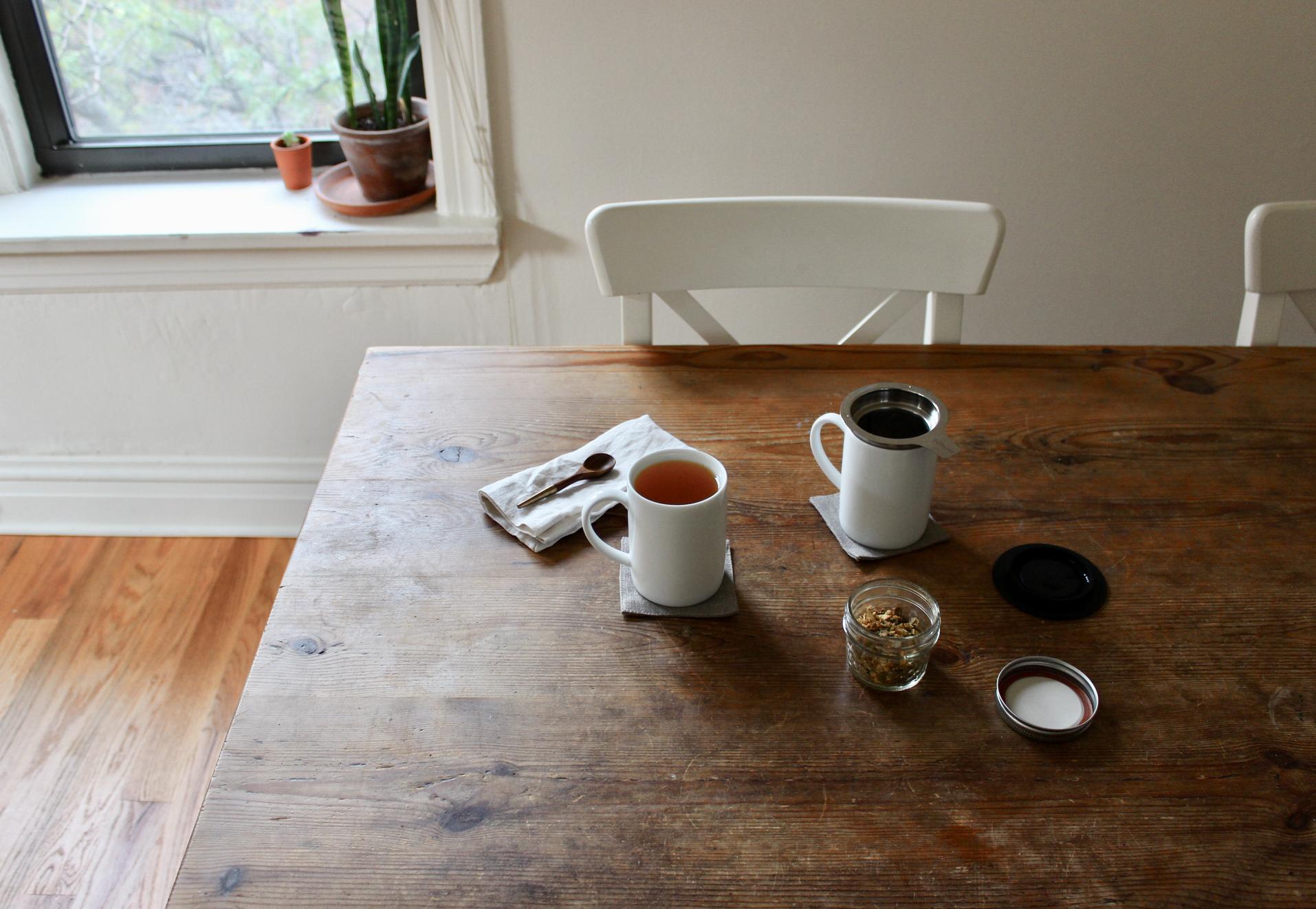 How to brew zero waste loose leaf tea | Litterless