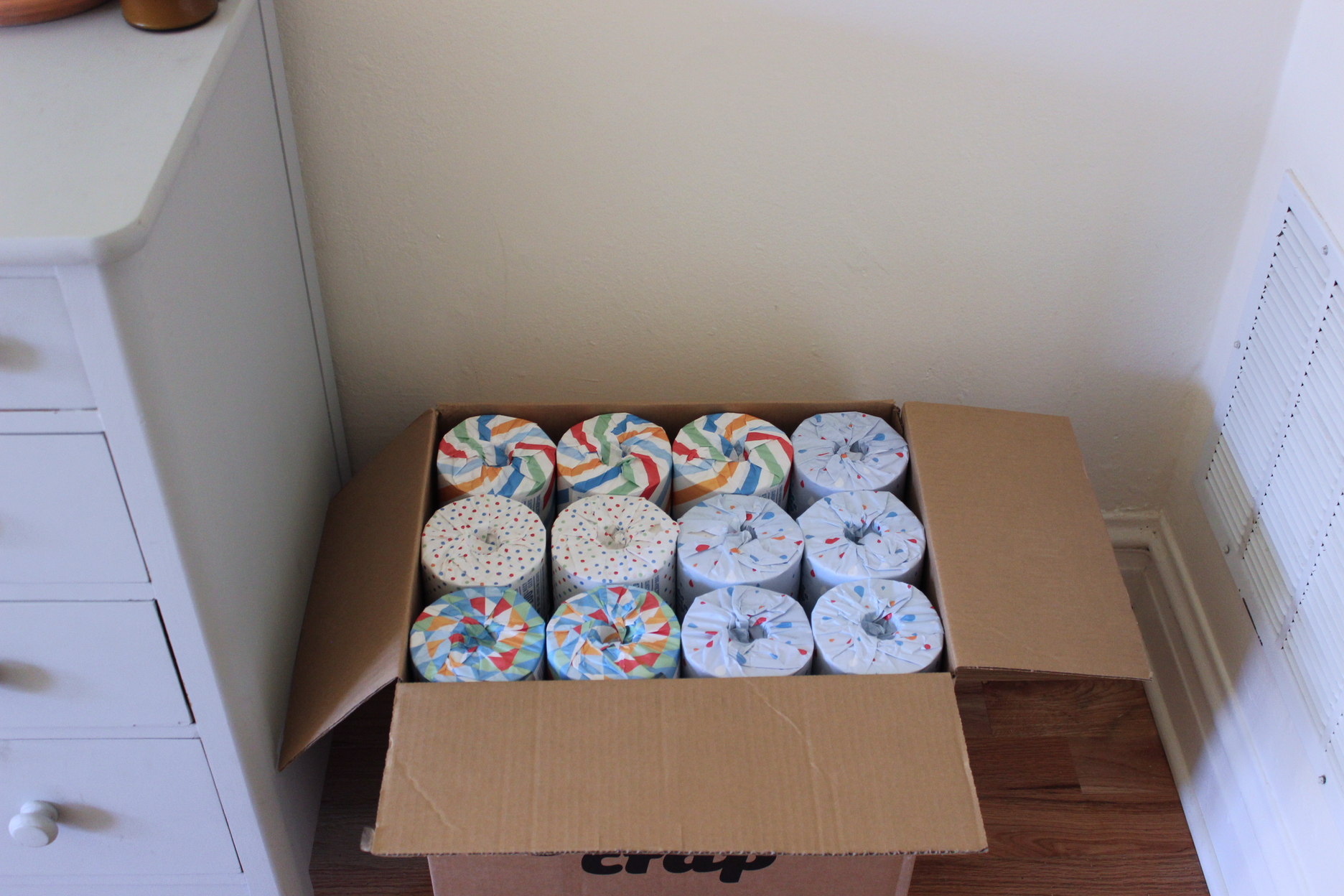Trying out zero waste, paper-wrapped toilet paper from Who Gives a Crap | Litterless