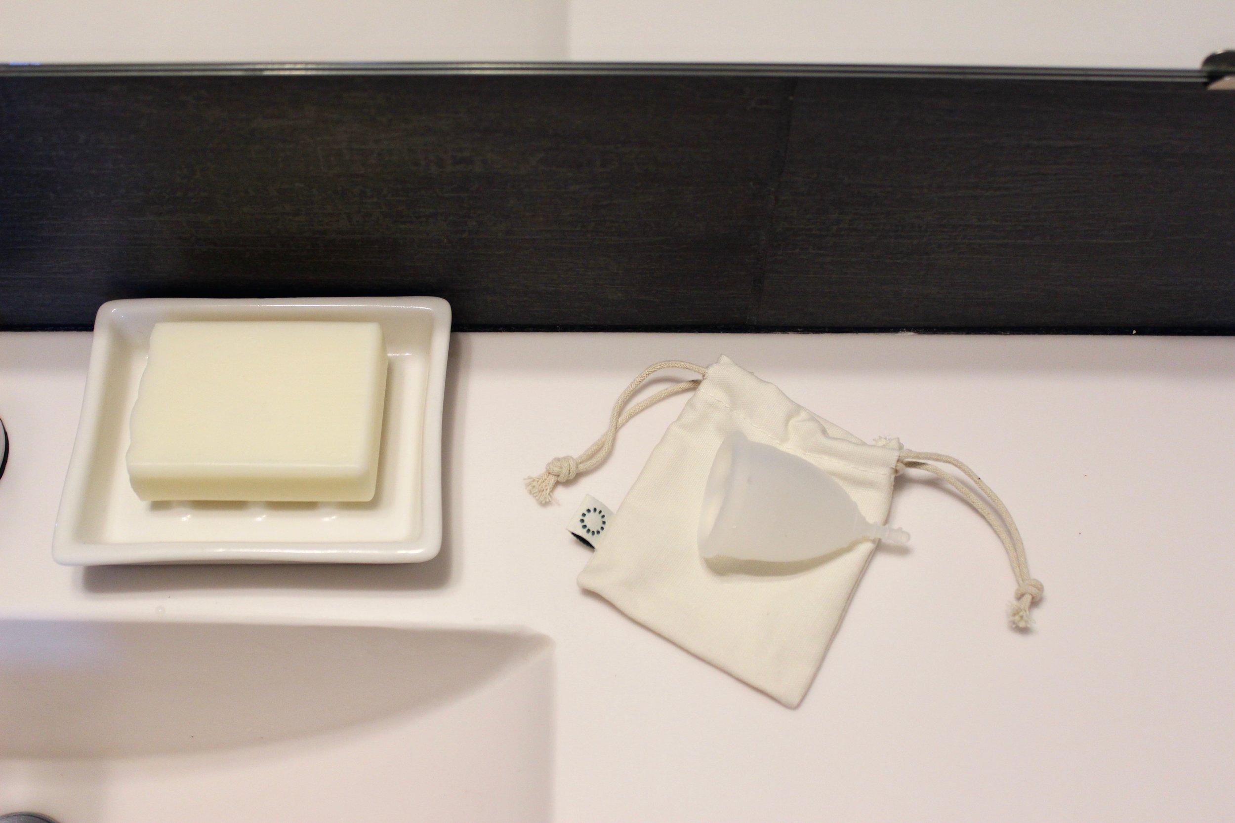 OrganiCup zero waste menstrual cup | Litterless