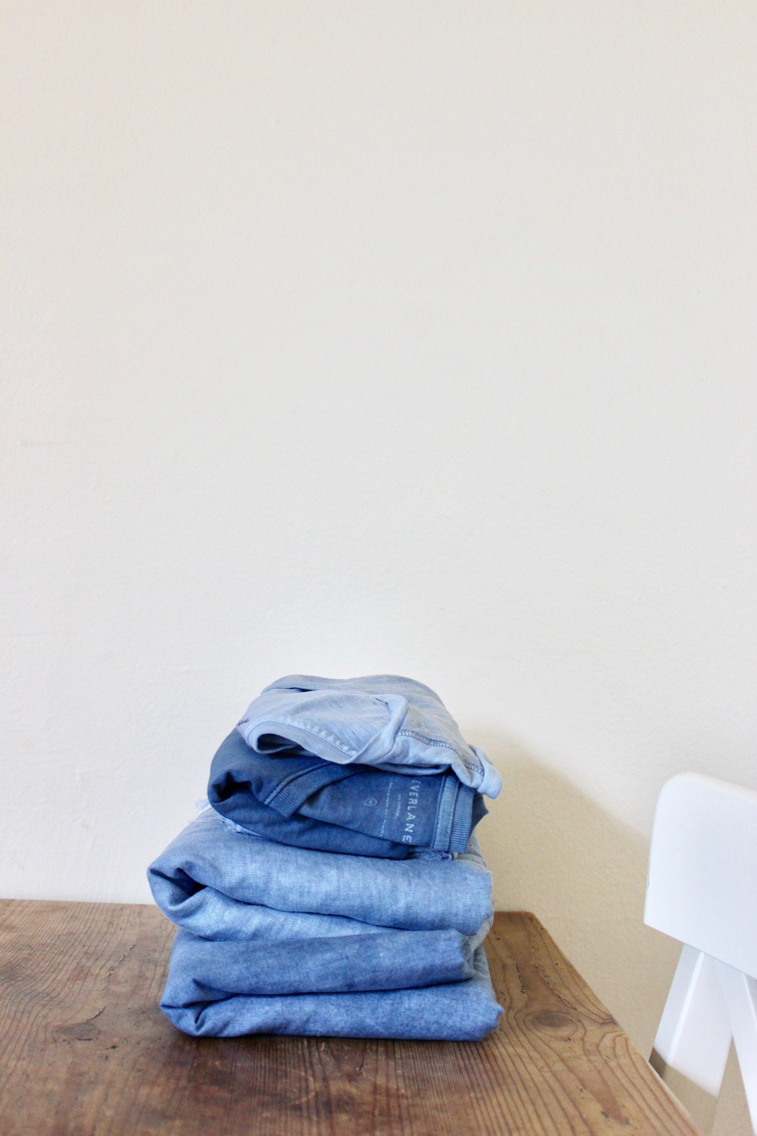 How to indigo dye clothing | Litterless