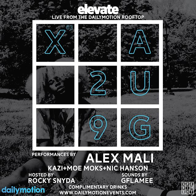 ME. ROOFTOP. YOU. AUG 29TH  @dailymotion @xperimentlive RSVP's are open✨