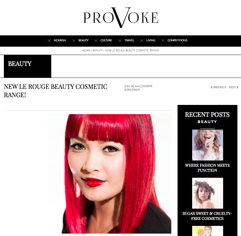 We've been featured over on Provoke: Read the article  here .