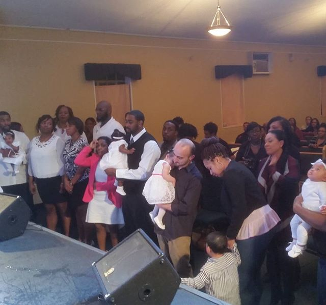 Baby Dedication. Parents and children. #SoulPowerWeekend