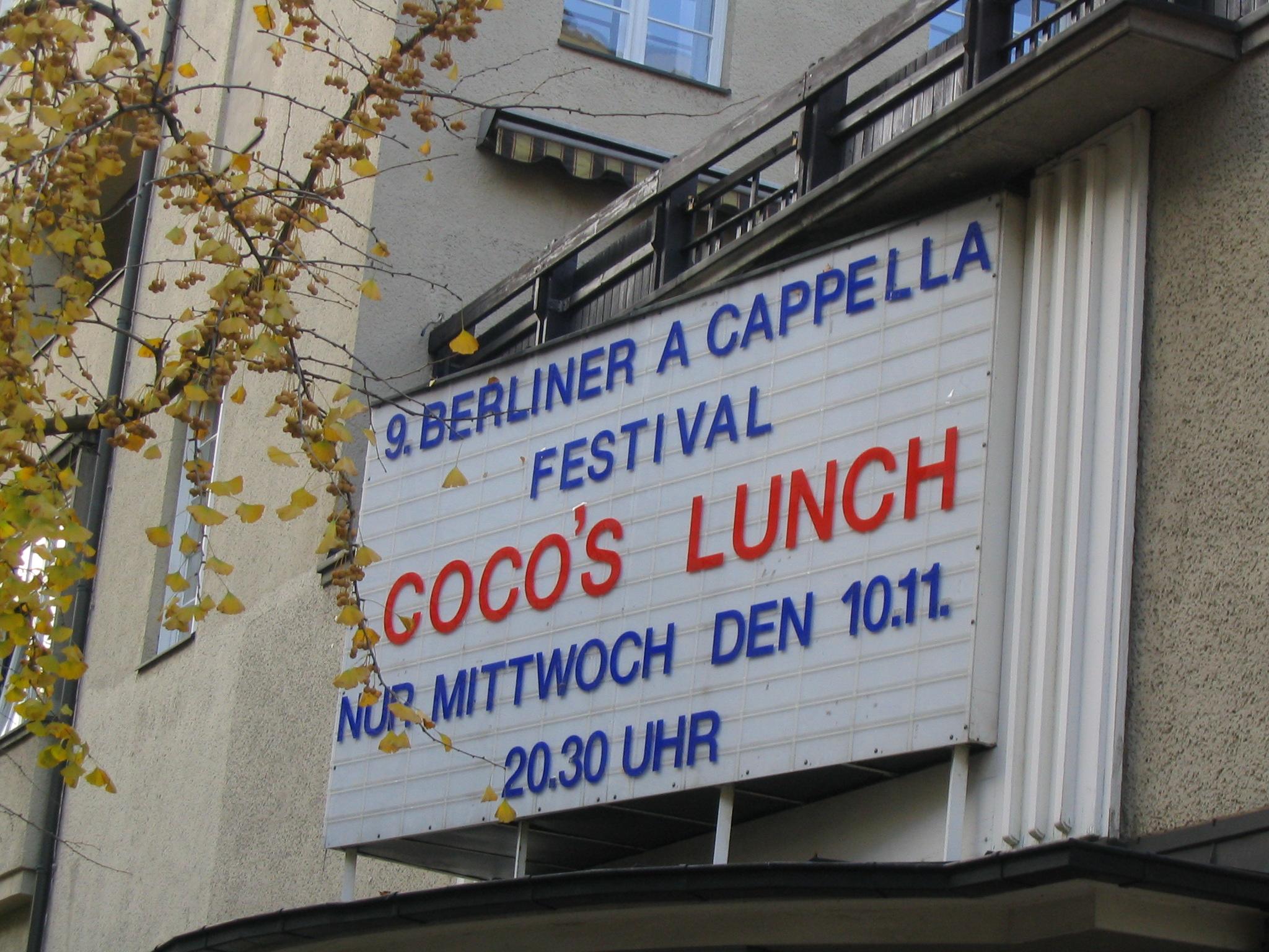 Berliner A Cappella Festival