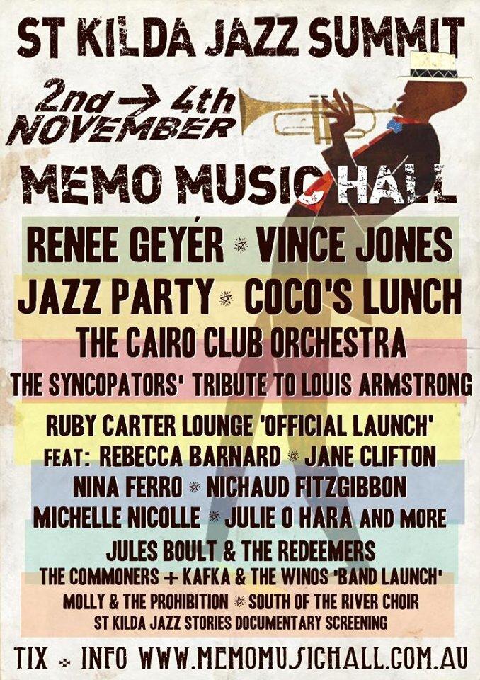 Coco's Lunch St. Kilda Jazz Summit Poster.jpg