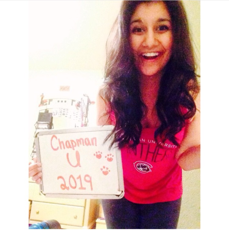 chapman university, say hello to your newest panther cub!