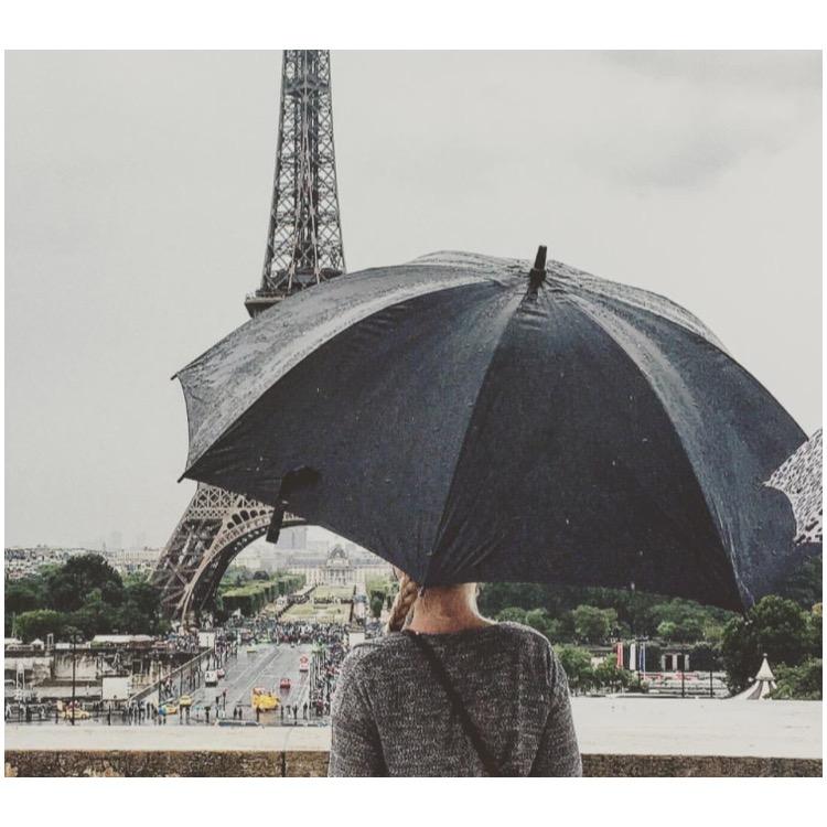 @alexiakmett  at the Eiffel Tower
