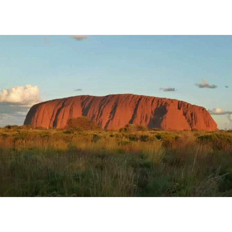 Look how stunning  @btzar  's photo from ground level is, can't even imagine how amazing Uluru would look from the air!!
