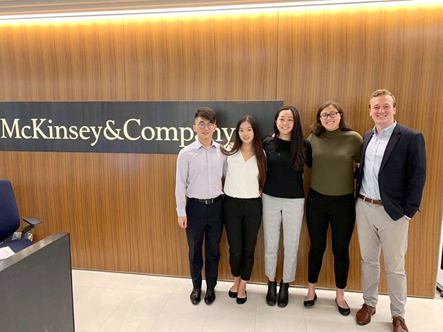 ⭐️ A well-deserved (and way late) CONGRATS to our bros for placing 1st in the CMU McKinsey Case Competition! ⭐️