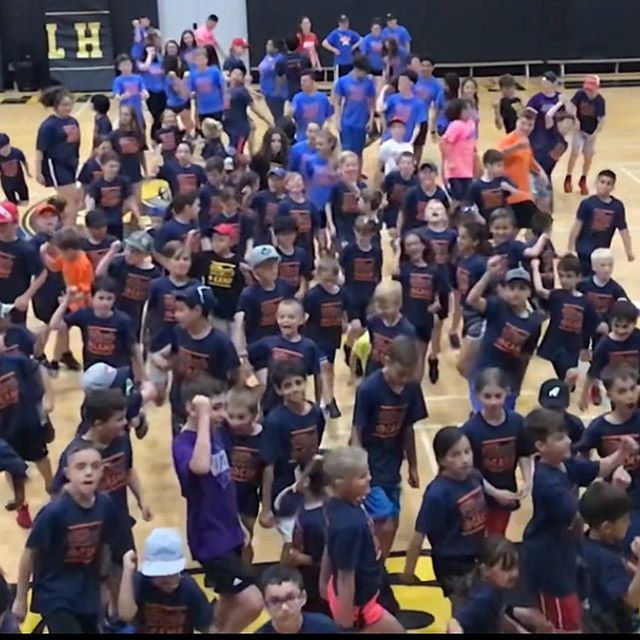 """Putting the 👉""""U"""" in FUN @ Ultimate⚡️Sports and Activity Summer Camp. Thanks 🙏 for the Ultimate FUN 👍Week!"""