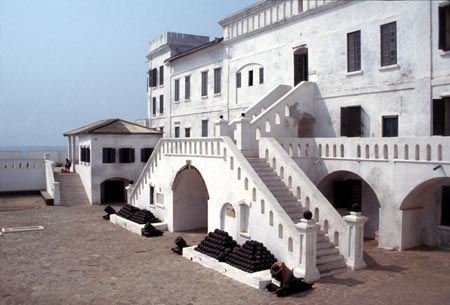 Ancient Portuguese Castle in Ghana