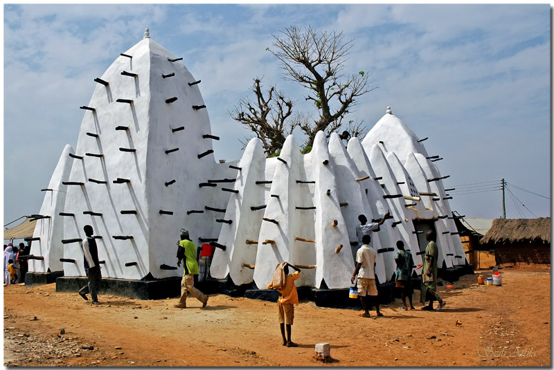 Larabanga Mosque in Ghana