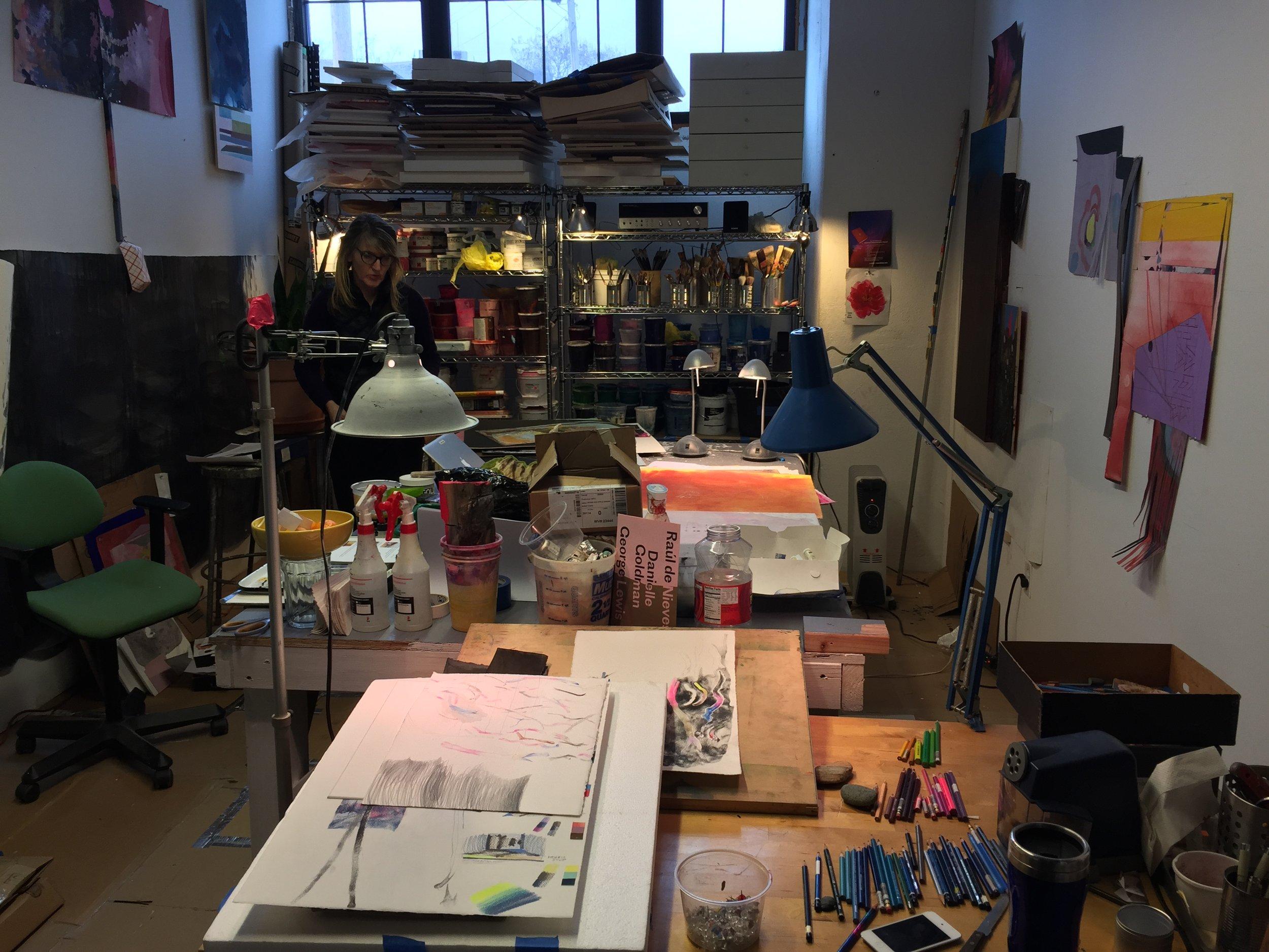 Studio shot, Michelle Oosterbaan.