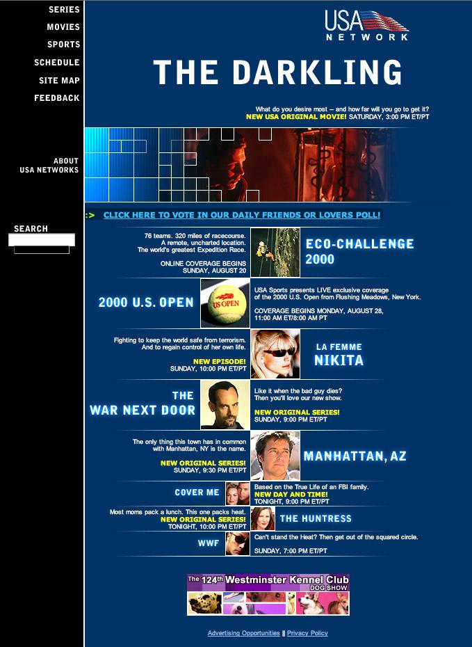 2000: USA Network
