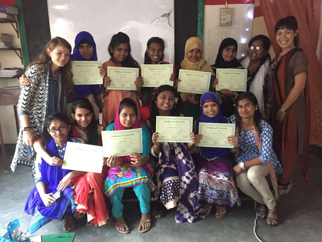 eM project graduation ceremony