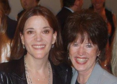 Terri with Marianne Williamson on the left, founder of the national Department of Peace Campaign