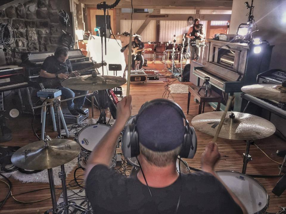 Live room @ Panoramic Studios (Photo credit:  Owl 'N Tree Productions )
