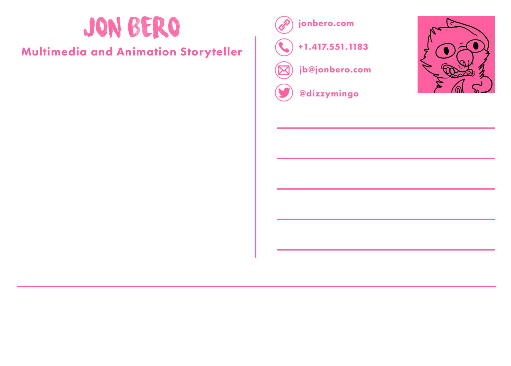 Promo Postcard