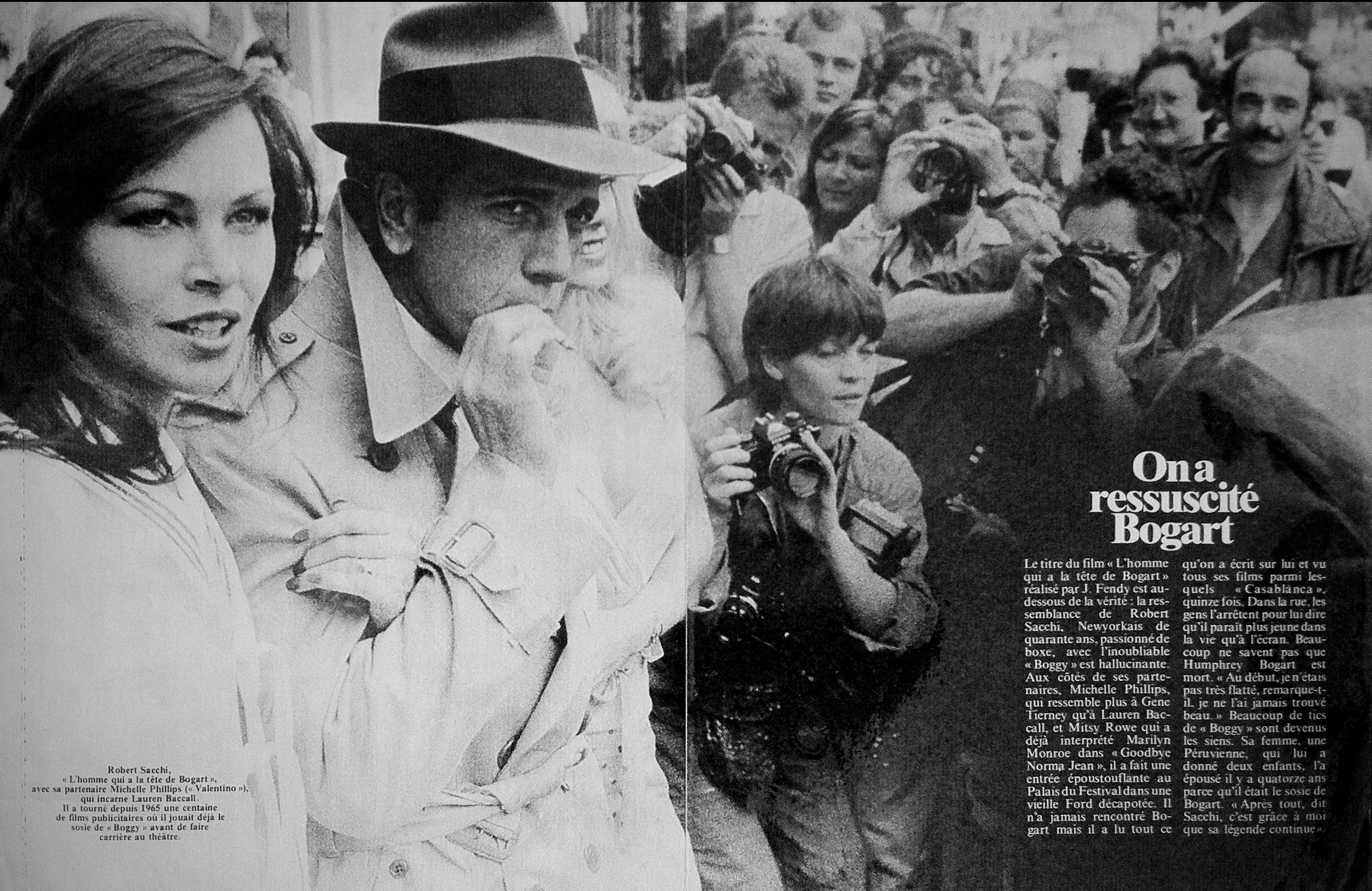 1980 on assignment at Cannes Film Festival where  Jack Thompson won best supporting actor in Australian Feature Film Breaker Morant Directed by Bruce Beresford.     Photo:   Paris Match magazine.