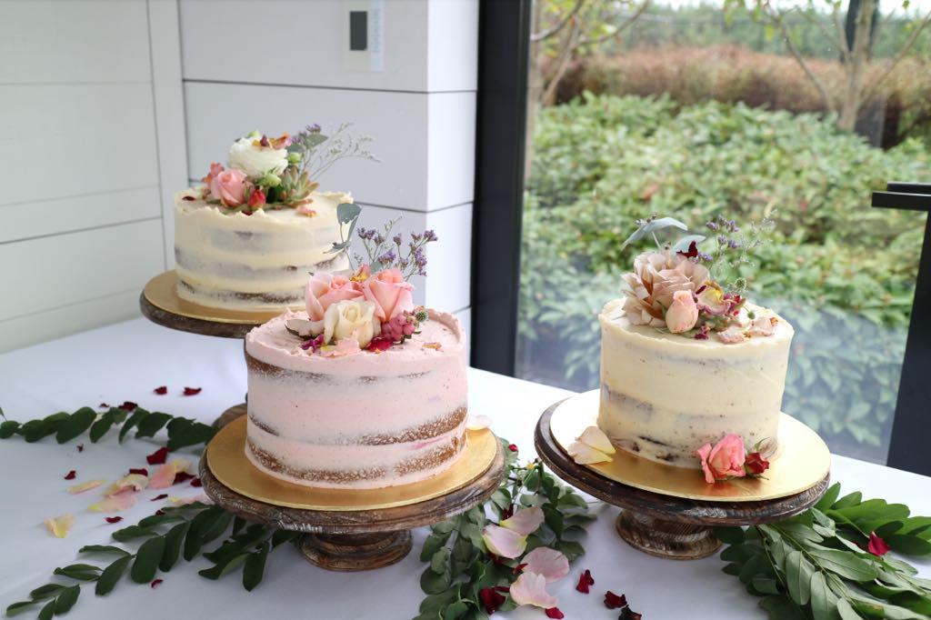Peppermint Kitchen dessert table cakes Wanaka