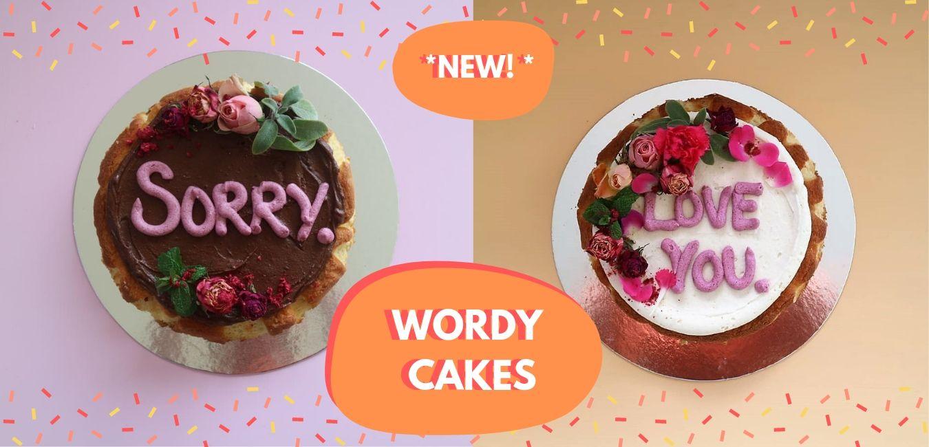 The Peppermint Kitchen Wanaka Wordy Cake