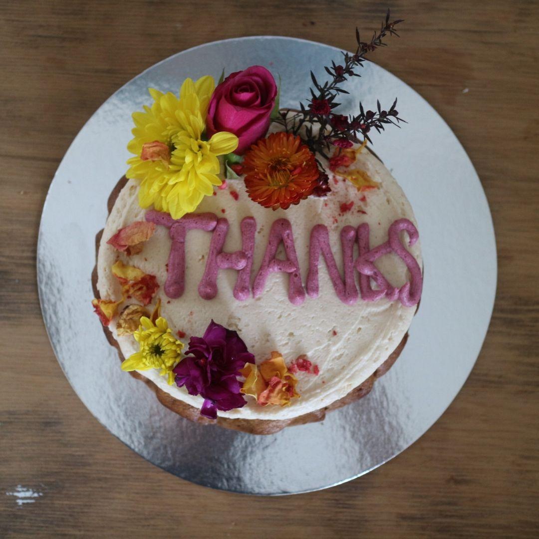 Peppermint Kitchen's Wanaka Wordy Cake