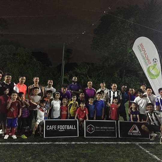 Our first parent and child #football clinic held on 26 July has been a great success! It was a pleasure to see the bonding between the parent and child, the laughter of the children. We look forward to our next session on 28 July. #sgfootballweek