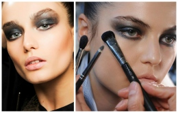 Photo courtesy of Mac Cosmetic and Donna Karen Fall 2013 Smokey eyes are the go-to look every fall.