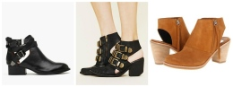 Photo Courtesy of Dv by Dolce Vita, Nasty Gal and Jeffrey Campbell Cut Out Booties