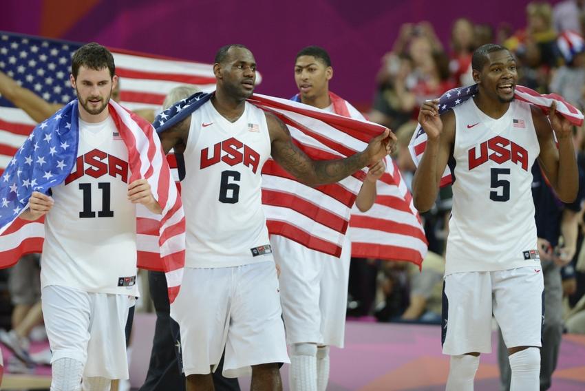 Olympics: Basketball-Men's Gold Medal Game-USA vs ESP