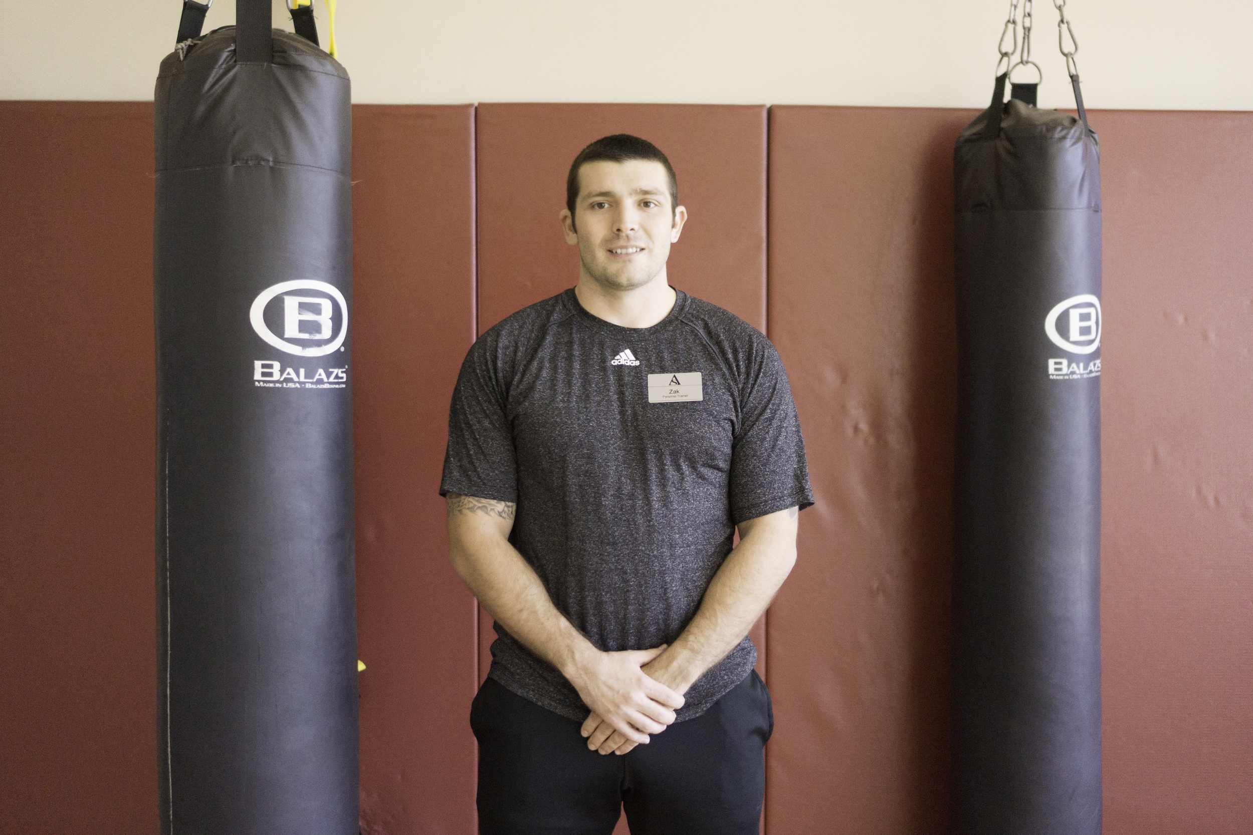 Zachary Smith, personal trainer at the Student Recreation and Wellness Center.
