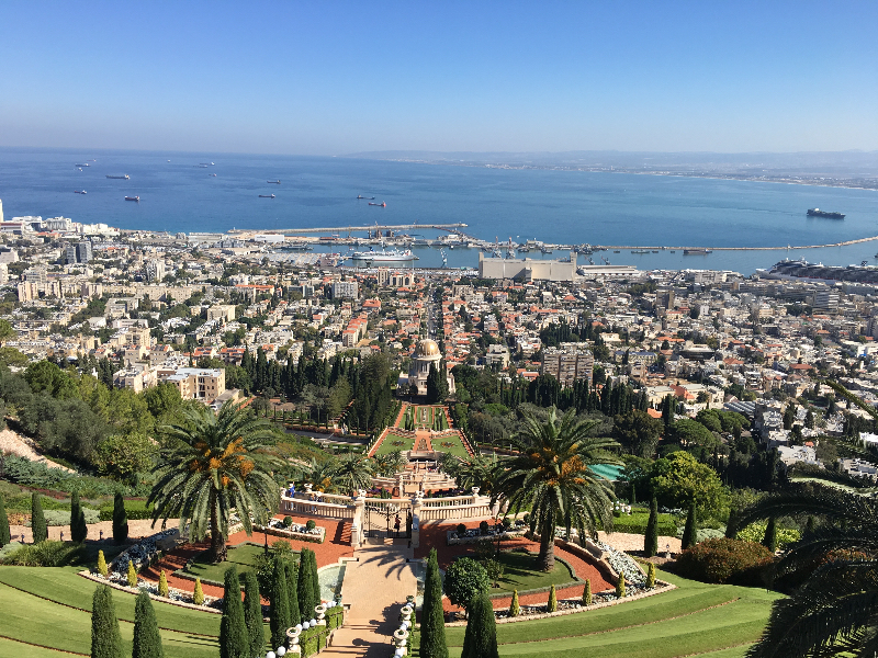 Overlook of Haifa