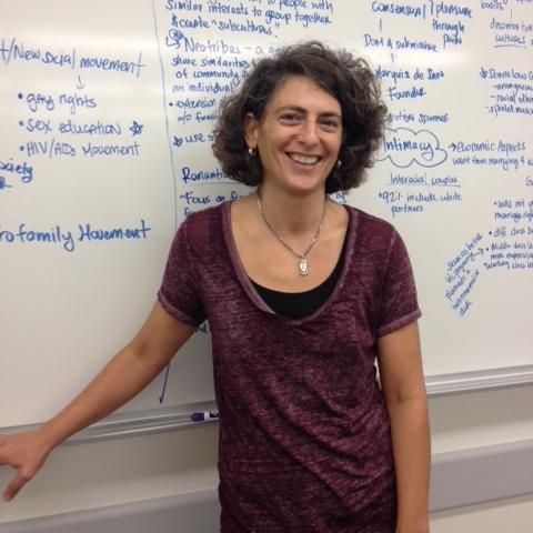 Sociology professor Nielan Barnes
