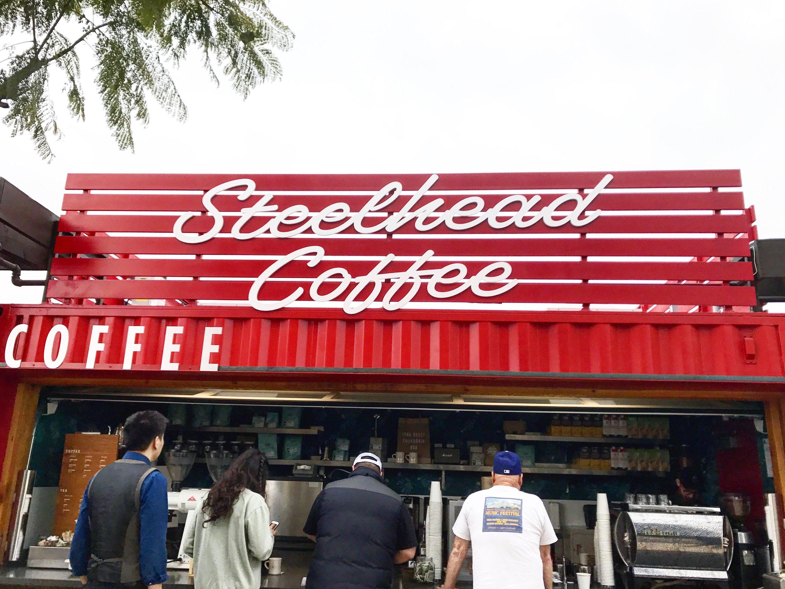Outside of Steelhead Coffee