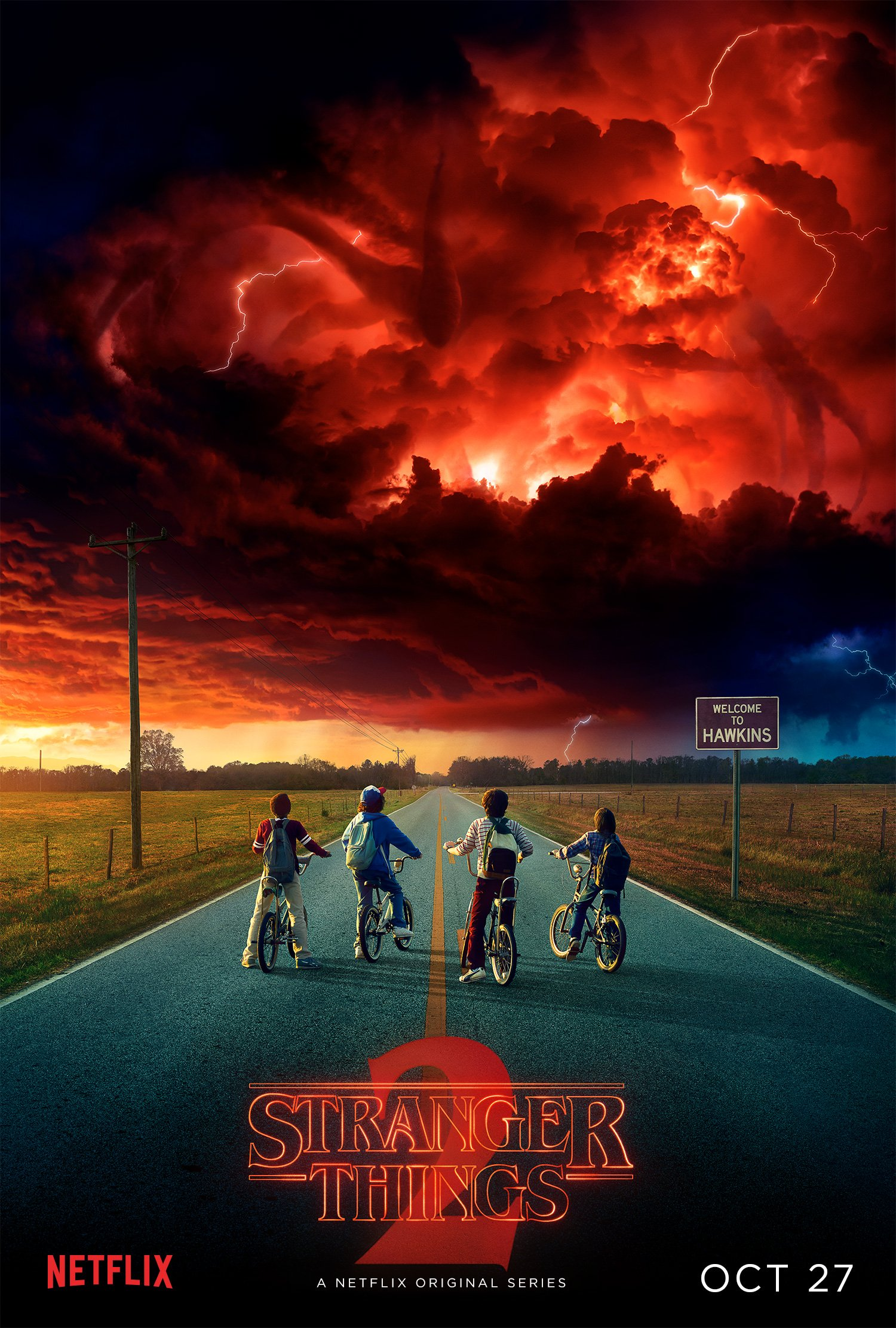 "- ""Stranger Things"" returns to Netflix for their second season on October 27th. October 27th is the same date that the first season was released, so it's been a long time coming for some people who finished the show in one day."