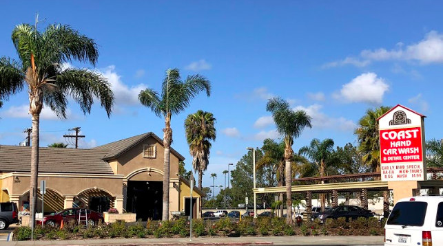 A usual sight for CSULB commuters, Coast Hand Car Wash boasts the closest  distance to campus for students.