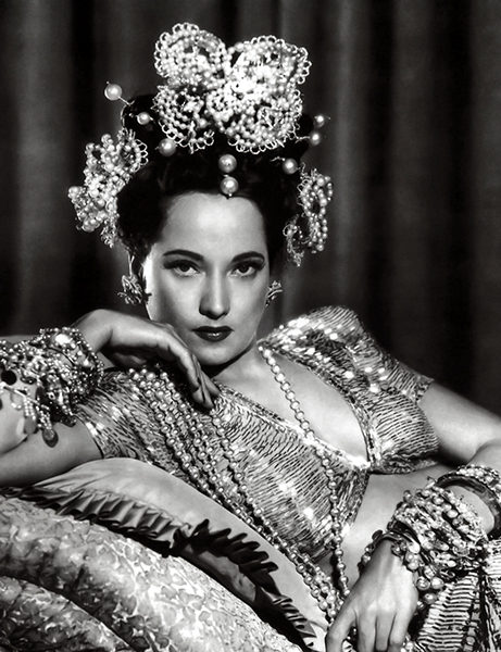 Merle Oberon/Photo from Bizarre Los Angeles